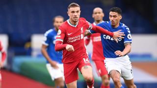 Драматичното градско дерби между Евертън и Ливърпул завърши без победител