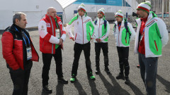 Министър Кралев се срещна с българските олимпийци в ПьонгЧанг