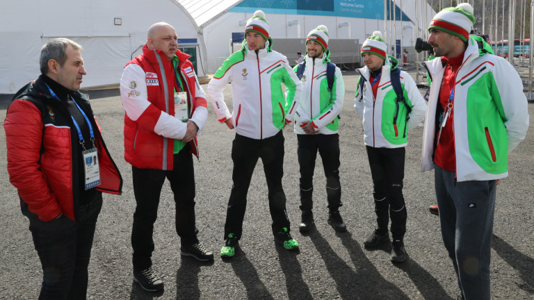 Министърът на младежта и спорта Красен Кралев се срещна днес