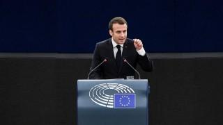 Макрон усеща Европа като пред гражданска война