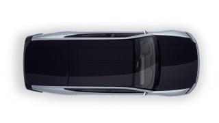 Колата, която се захранва от слънчеви панели, монтирани на покрива