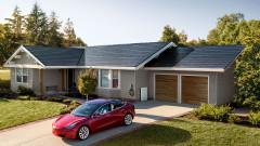 Tesla ще монтира по 1000 покрива със соларни керемиди седмично