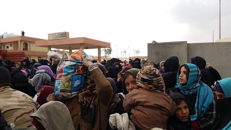 Жени и деца пострадаха от химическо оръжие в Мосул