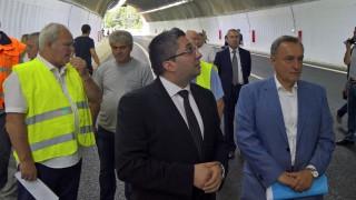 """Отвориха за движение тунел """"Ечемишка"""""""
