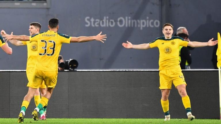 Селтик постигна драматичен обрат срещу Лацио в срещата между двата