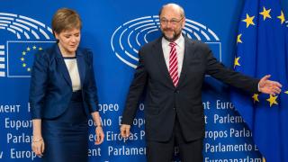 Шотландия е решена да остане в ЕС, обяви шефката на правителството в Брюксел