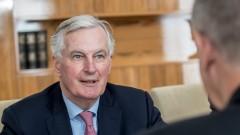Остава още 25% работа по сделката за Брекзит, съобщи Барние