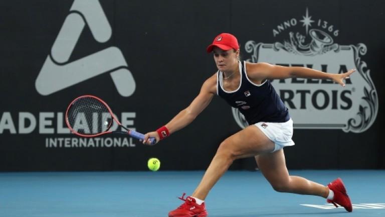 Лидерката в световната ранглиста Алши Барти (Австралия) се класира за