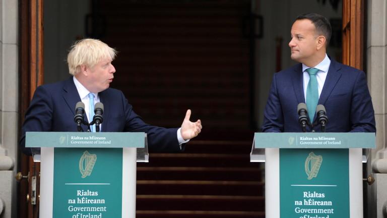 Ирландия отсече: Никаква сделка за Брекзит без предпазния механизъм