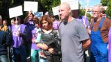 НЕК ни води към фалит, обявиха протестиращите бургаски енергетици