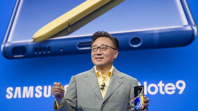 Note9 показа как Samsung ще се бори с китайската конкуренция