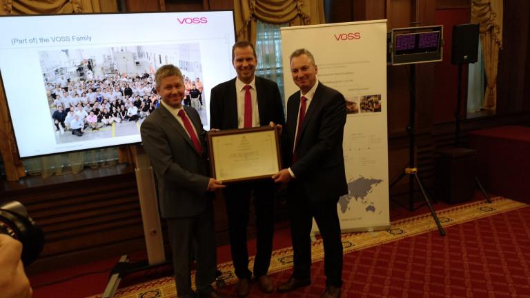 VOSS Automotiv имат големи амбиции за производството си в България
