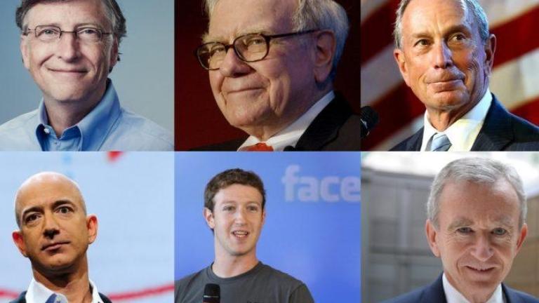 8 човека притежават парите на половината човечество. Кои са те?