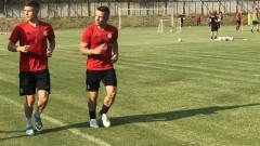 Титулярите на ЦСКА минаха метър и пропуснаха първата тренировка за деня