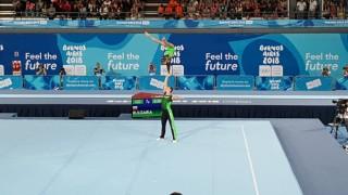 Второ злато за българските акробати на младежката Олимпиада в Аржентина!
