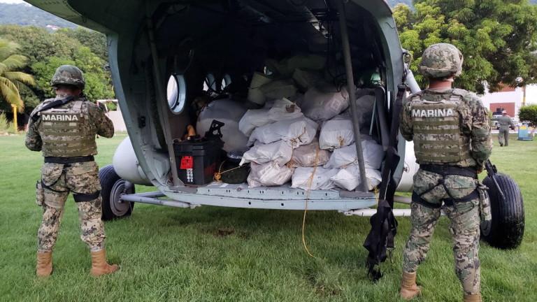 Мексиканските власти откриха 18 чувала с човешки останки