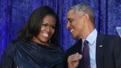 Когато Барак Обама иска да се скрие от Мишел