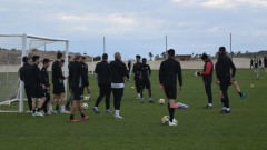 Първи роден клуб поднови тренировки