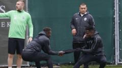 Лудогорец - Динамо (Киев) 2:1 (Развой на срещата по минути)