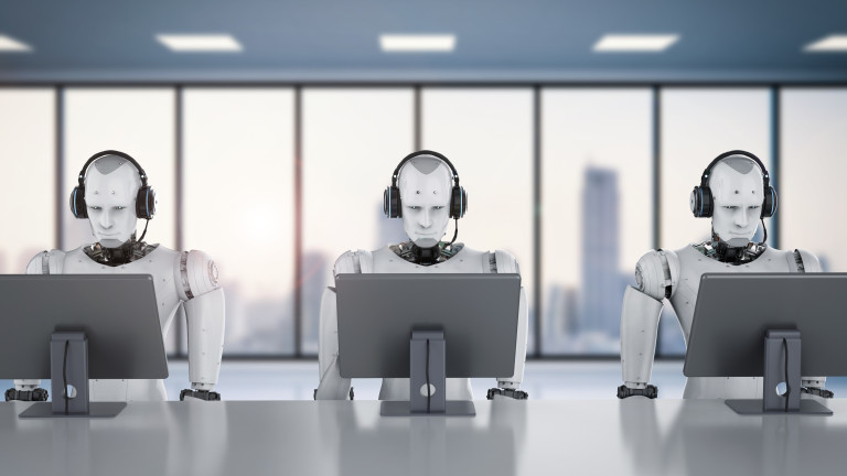 Роботите първо ще завладеят финансите, а после и цялата икономика