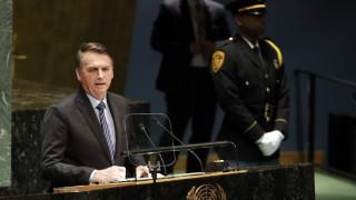 Болсонару заклейми социализма и колониализма в първата си реч пред ООН