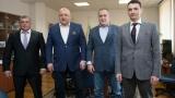 Министър Кралев се срещна с медалистите от Евро 2016 по таекуондо
