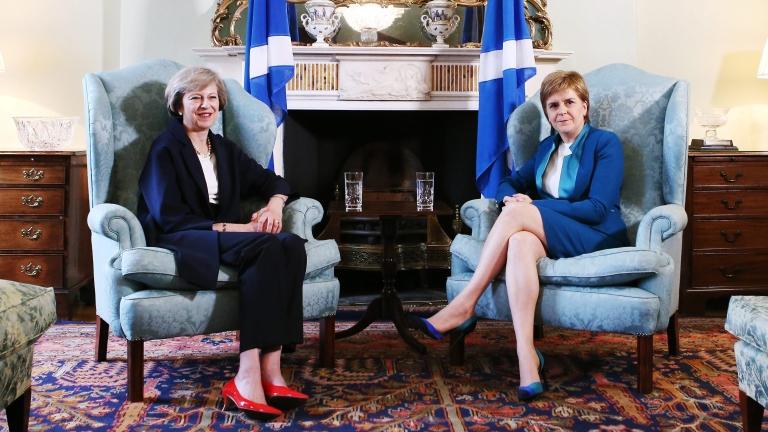 Първият министър на Шотландия Никола Стърджън излезе с изявление, в