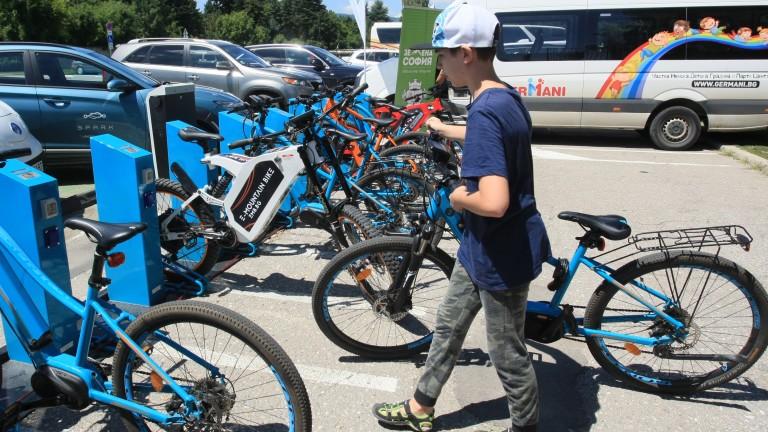 С общо 15 електрически велосипеди столичани ще могат да се