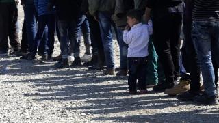Бой на бежанци в лагер в Германия