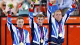 Великобритания защити титлата си в отборния спринт