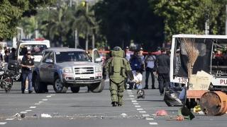 """Откриха бомба на """"Ислямска държава"""" до американското посолство в Манила"""