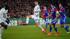 Златан Ибрахимович с рекорд в Шампионската лига