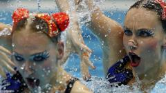 Руска доминация в синхронното плуване