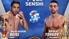 Българският боец Николай Йоргов в сблъсък с ирански шампион на SENSHI 5