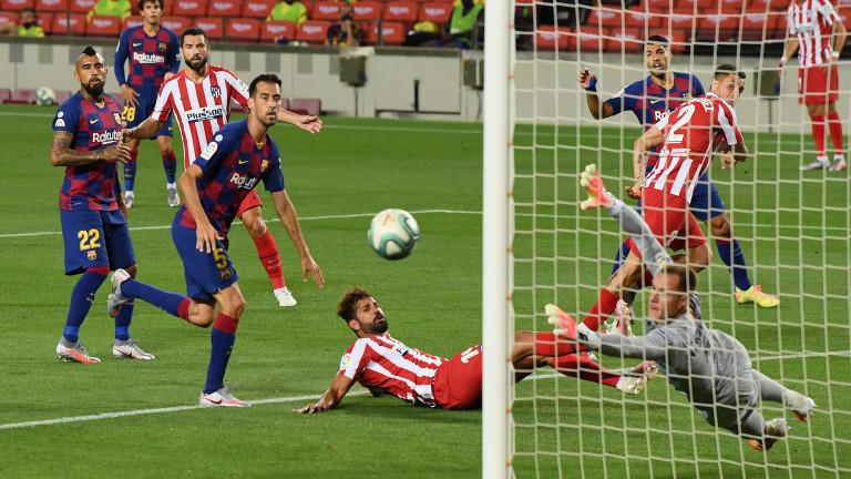Барселона - Атлетико (Мадрид) 2:2, Меси с гол №700 и три дузпи