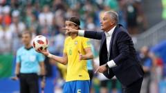 Бразилия с желязна защита при Тите