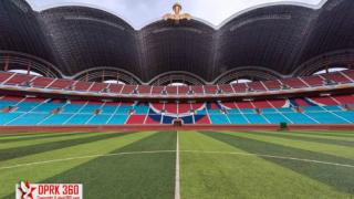 Вижте изумителния Национален стадион на Северна Корея (СНИМКИ)