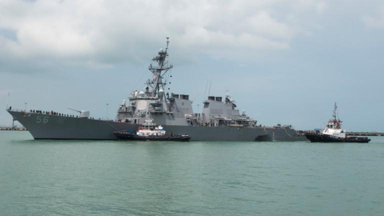 Белият дом е поискал от американския флот да изведе от