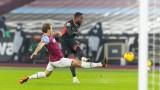 Ливърпул на точка зад Манчестър Юнайтед след успех срещу Уест Хем
