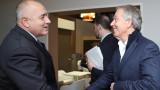 Тони Блеър поздрави Борисов за всичко, което прави