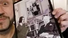 Любо се хвали с ценна фотография на Чарли Чаплин