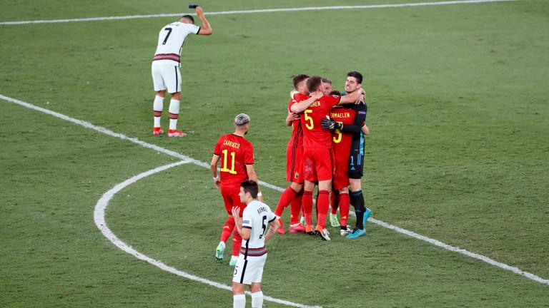 Белгия детронира шампиона Португалия и среща Италия на 1/4 финалите!