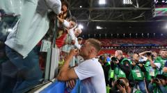 Англия отново тренира без Джейми Варди