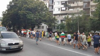 Протестиращите в Асеновград блокираха пътя за Смолян