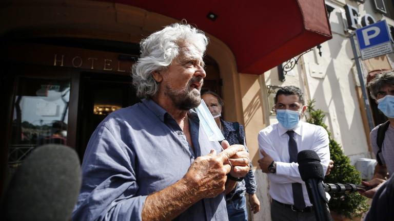 """Бепе Грило: Конте не е подходящ за лидер на """"Движение 5 звезди"""""""