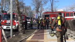 Пожар лумна в тютюнев склад в Пловдив
