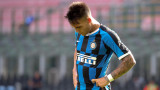 Лаутаро Мартинес се провали на поредния си изпит за лидерската позиция в Интер