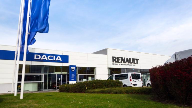 Недостигът на чипове спря работата и на Dacia