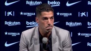 Суарес през сълзи: От Барса не си тръгва само футболист, а човешко същество