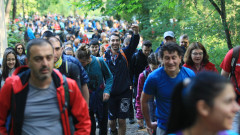 Стотици по стъпките на Боян Петров